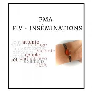BRACELET PMA – FIV – INSEMINATIONS