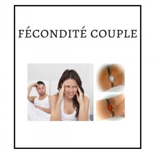 PACK BRACELETS COUPLE : FÉCONDITÉ, STÉRILITÉ, FERTILITÉ, GROSSESSE