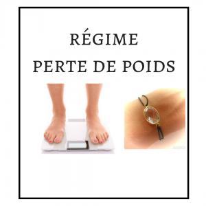 BRACELET : RÉGIME – PERTE DE POIDS
